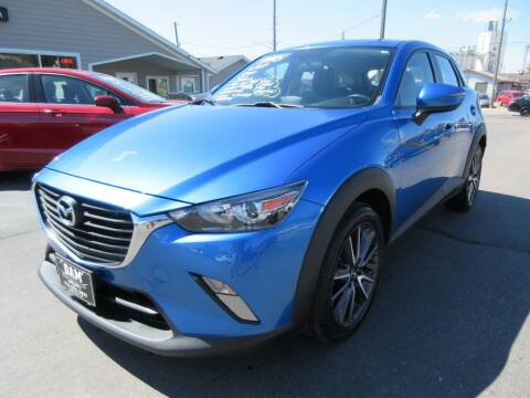 2017 Mazda CX-3 for sale at Dam Auto Sales in Sioux City IA