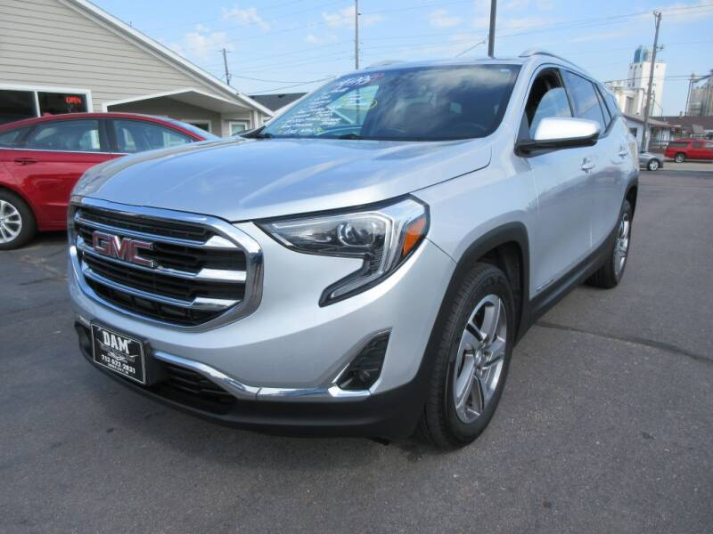 2018 GMC Terrain for sale at Dam Auto Sales in Sioux City IA