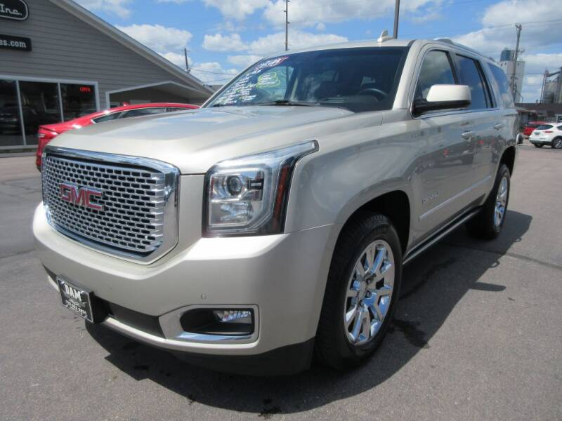 2015 GMC Yukon for sale at Dam Auto Sales in Sioux City IA