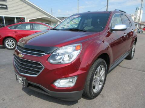 2016 Chevrolet Equinox for sale at Dam Auto Sales in Sioux City IA