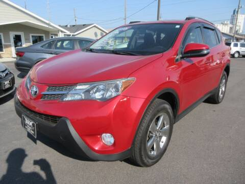 2015 Toyota RAV4 for sale at Dam Auto Sales in Sioux City IA