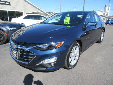 2020 Chevrolet Malibu for sale at Dam Auto Sales in Sioux City IA