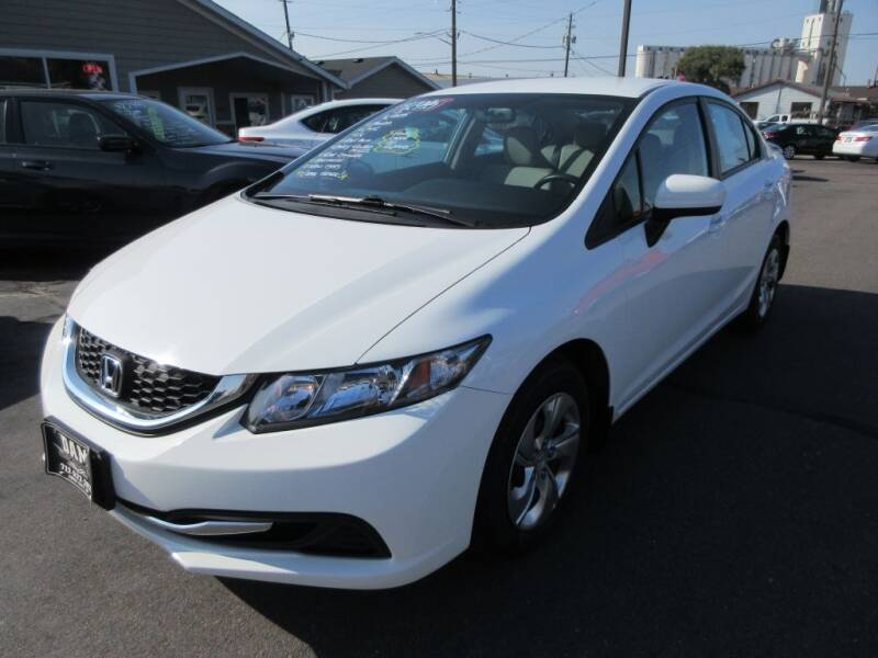 2015 Honda Civic for sale at Dam Auto Sales in Sioux City IA