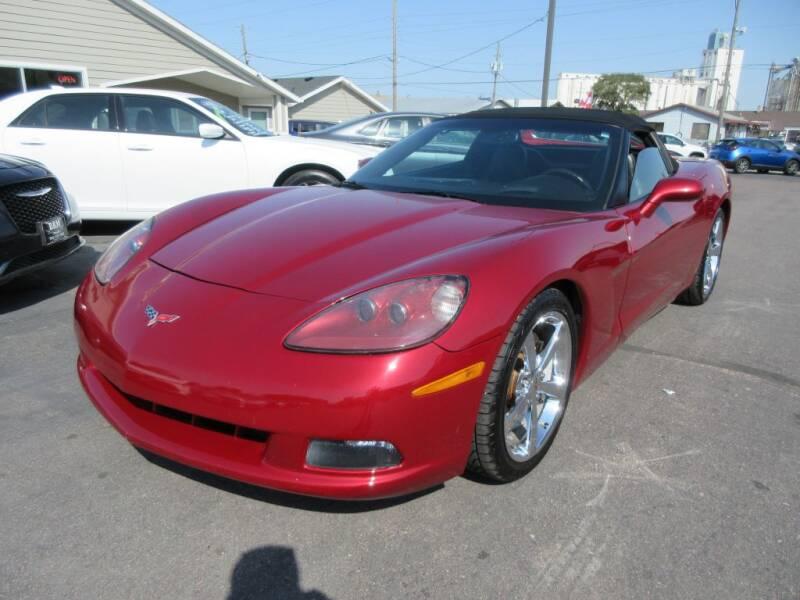 2008 Chevrolet Corvette for sale at Dam Auto Sales in Sioux City IA