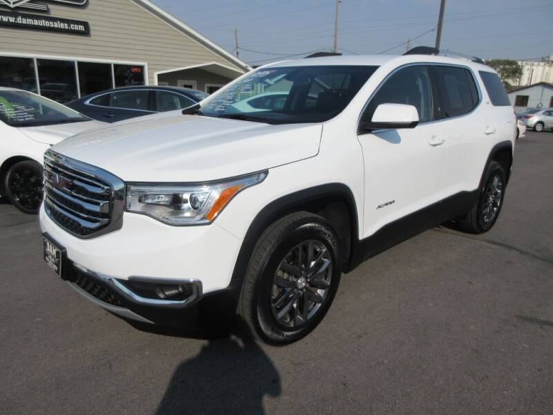 2019 GMC Acadia for sale at Dam Auto Sales in Sioux City IA