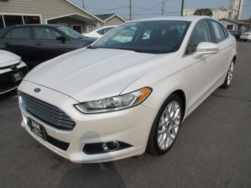 2014 Ford Fusion for sale at Dam Auto Sales in Sioux City IA