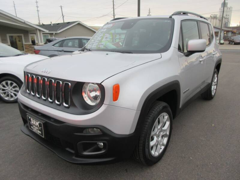 2018 Jeep Renegade for sale at Dam Auto Sales in Sioux City IA