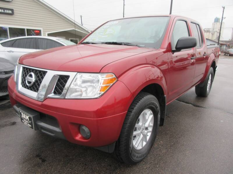 2019 Nissan Frontier for sale at Dam Auto Sales in Sioux City IA