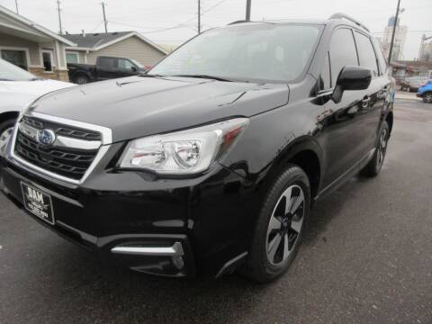 2017 Subaru Forester for sale at Dam Auto Sales in Sioux City IA