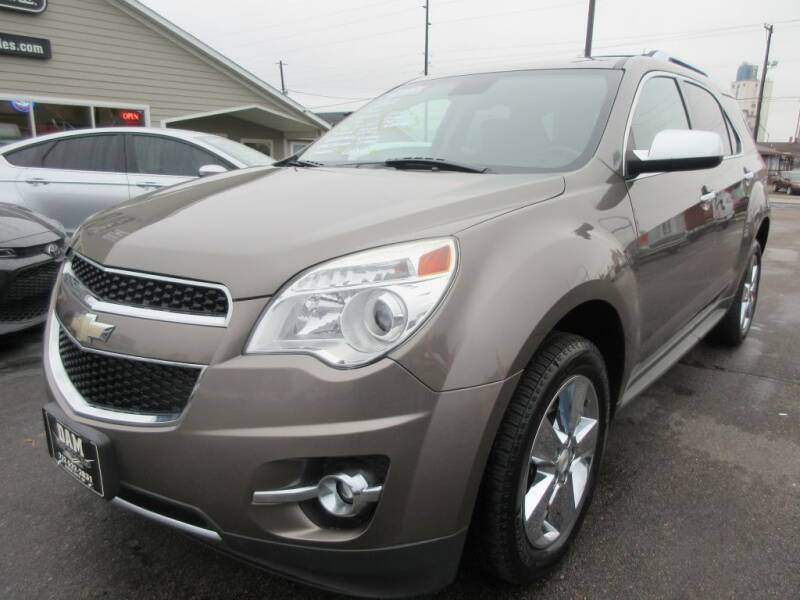 2012 Chevrolet Equinox for sale at Dam Auto Sales in Sioux City IA