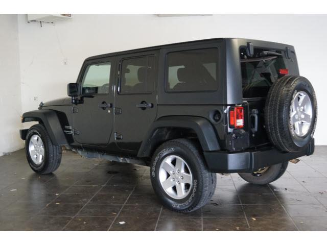 2015 Jeep Wrangler Unlimited for sale at FREDY'S USED CAR SALES in Houston TX