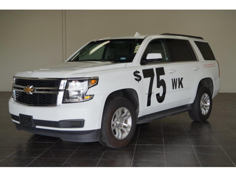 2017 Chevrolet Tahoe for sale at FREDY'S USED CAR SALES in Houston TX