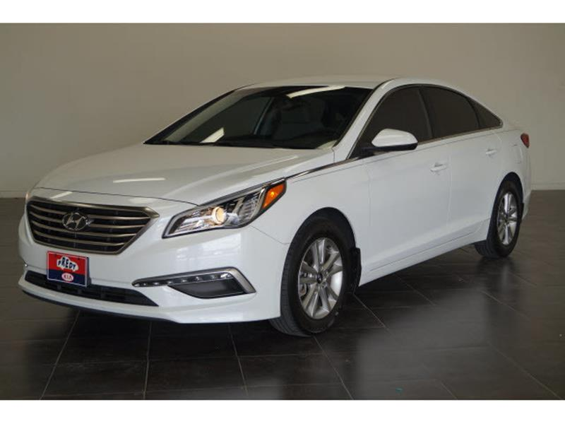2015 Hyundai Sonata for sale at FREDY'S USED CAR SALES in Houston TX