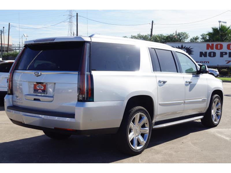 2017 Cadillac Escalade ESV for sale at FREDY'S USED CAR SALES in Houston TX