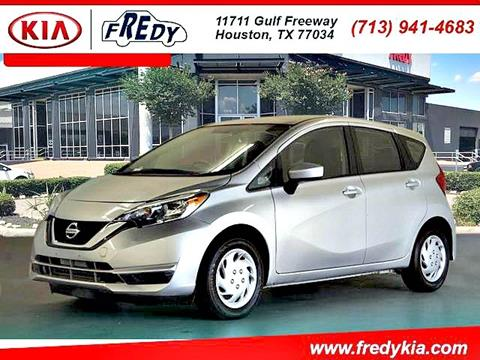 2017 Nissan Versa Note for sale in Houston, TX