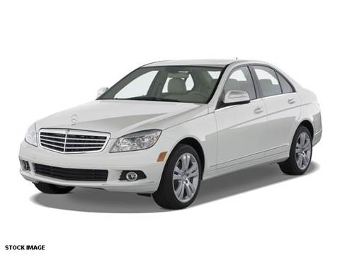 2008 Mercedes-Benz C-Class for sale at FREDY'S USED CAR SALES in Houston TX