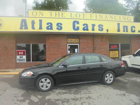 2009 Chevrolet Impala for sale at Atlas Cars Inc. - Elizabethtown Lot in Elizabethtown KY