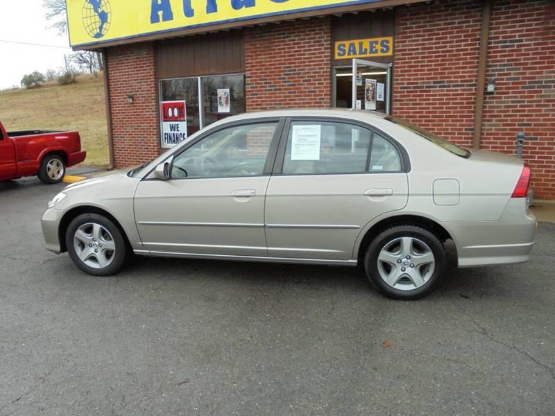 2004 Honda Civic EX 4dr Sedan - Elizabethtown KY