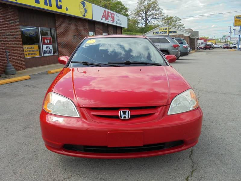 2002 Honda Civic EX 2dr Coupe - Radcliff KY