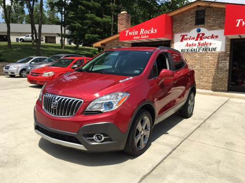 2013 Buick Encore for sale in Uniontown, PA