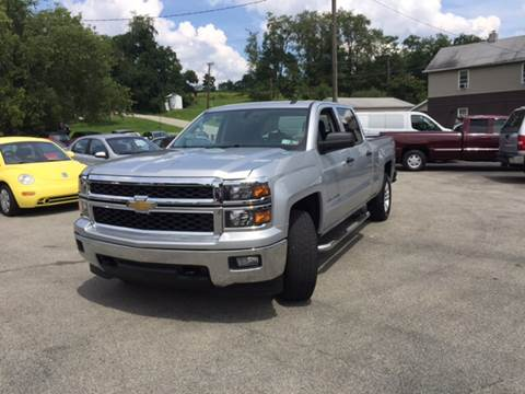 2014 Chevrolet Silverado 1500 for sale in Uniontown, PA