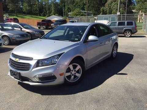 2015 Chevrolet Cruze for sale in Uniontown, PA