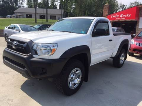 2012 Toyota Tacoma for sale in Uniontown, PA