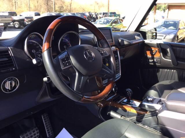 2013 Mercedes-Benz G-Class AWD G 550 4MATIC 4dr SUV - Uniontown PA
