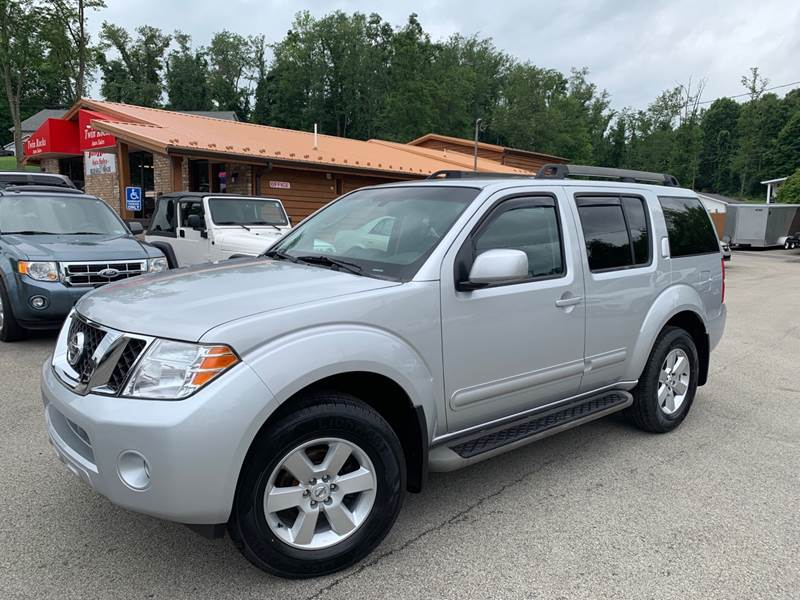 2012 Nissan Pathfinder 4x4 SV 4dr SUV In Uniontown PA - Twin