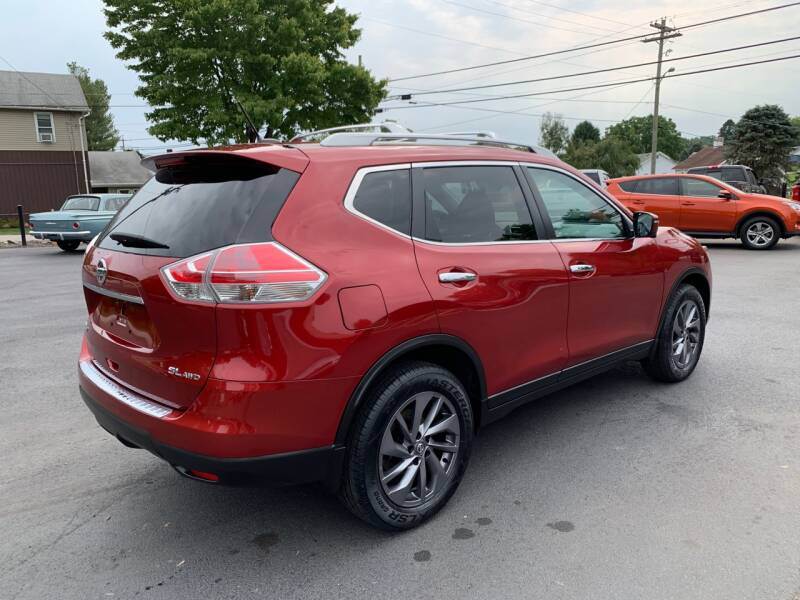 2016 Nissan Rogue AWD SL 4dr Crossover - Uniontown PA