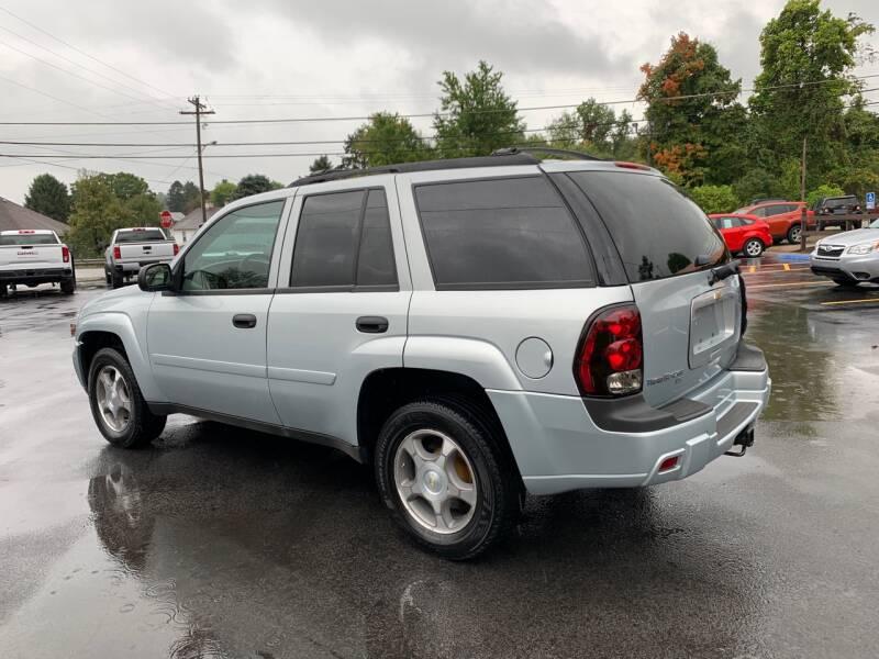 2007 Chevrolet TrailBlazer LS 4dr SUV 4WD - Uniontown PA