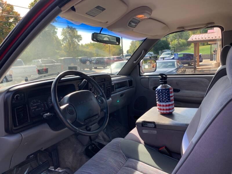 1996 Dodge Ram Pickup 1500 2dr Laramie SLT 4WD Standard Cab SB - Uniontown PA
