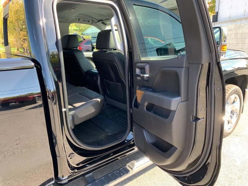 2015 Chevrolet Silverado 1500 4x4 LTZ 4dr Double Cab 6.5 ft. SB - Uniontown PA