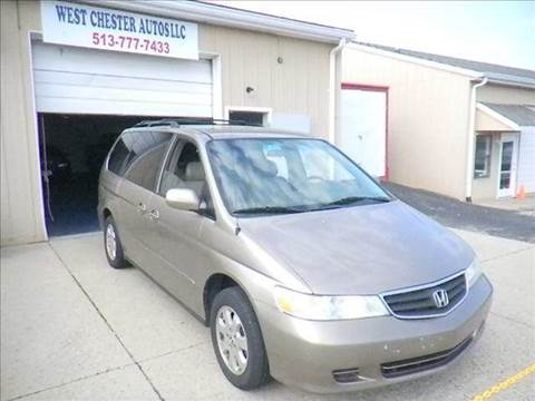 2003 Honda Odyssey for sale at West Chester Autos in Hamilton OH
