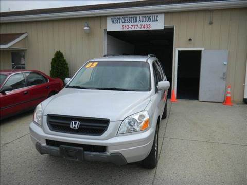 2003 Honda Pilot for sale at West Chester Autos in Hamilton OH