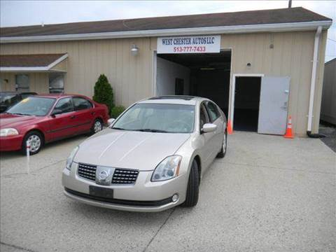 2004 Nissan Maxima for sale at West Chester Autos in Hamilton OH