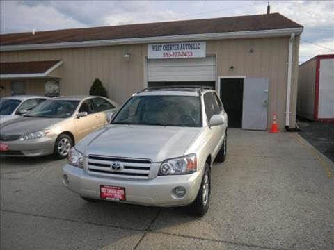 2006 Toyota Highlander for sale at West Chester Autos in Hamilton OH