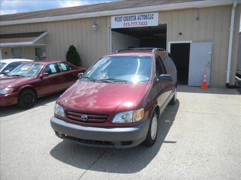 2001 Toyota Sienna for sale at West Chester Autos in Hamilton OH