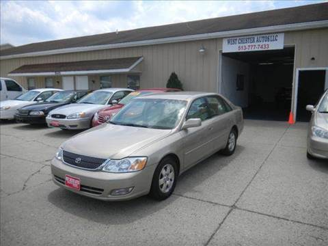 2002 Toyota Avalon for sale at West Chester Autos in Hamilton OH