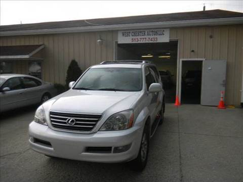2006 Lexus GX 470 for sale at West Chester Autos in Hamilton OH