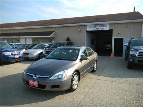2007 Honda Accord for sale at West Chester Autos in Hamilton OH