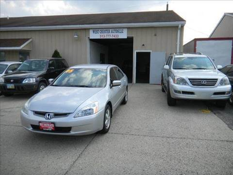 2005 Honda Accord for sale at West Chester Autos in Hamilton OH