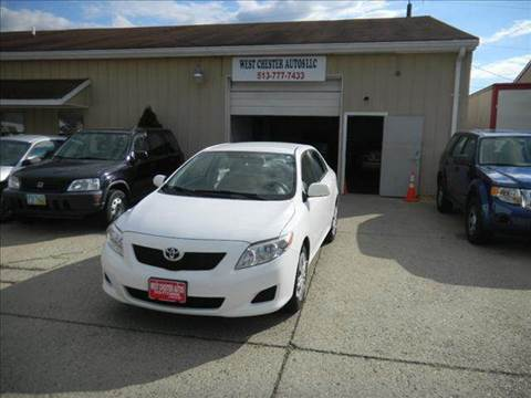 2009 Toyota Corolla for sale at West Chester Autos in Hamilton OH