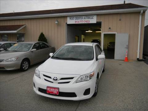 2011 Toyota Corolla for sale at West Chester Autos in Hamilton OH
