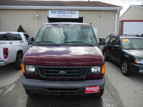 2006 Ford E-Series Wagon for sale at West Chester Autos in Hamilton OH
