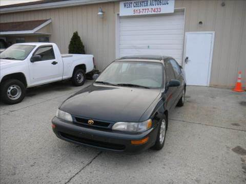 1997 Toyota Corolla for sale at West Chester Autos in Hamilton OH