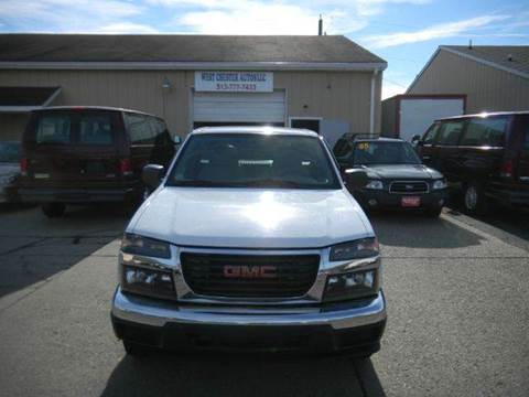 2006 GMC Canyon for sale at West Chester Autos in Hamilton OH