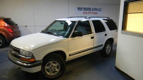 2001 Chevrolet Blazer for sale at West Chester Autos in Hamilton OH