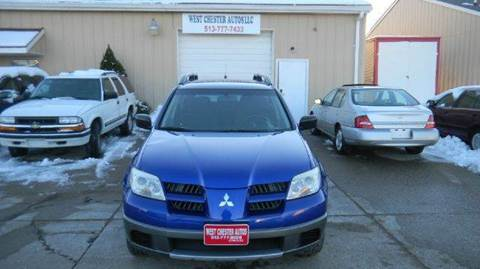 2005 Mitsubishi Outlander for sale at West Chester Autos in Hamilton OH