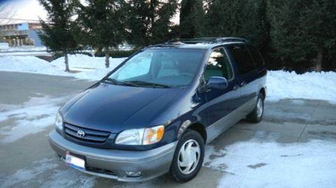 2002 Toyota Sienna for sale at West Chester Autos in Hamilton OH